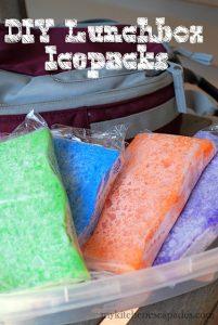 Sponge Ice Packs