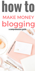 How to Make Money Blogging: 5 Strategies that will Help Me Make a Full-Time Income from Home |How To Make Money Blogging From The Start|If you want to learn how to make money blogging, you need to check this out|Click through to this post to learn how to make money blogging especially for beginners. I use those awesome monetization techniques to make money from my blog each month! You can too!