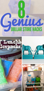 These 8 Dollar Store Decor Hacks are THE BEST! I'm so glad I found these AMAZING home decor ideas and tips! Now I have great ways to decorate my home a a budget and decorate on a dime! Definitely pinning!