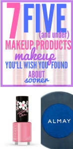 Best #Face Makeup UNDER $5. Affordable Makeup Products. Cheap & GOOD #Makeup.This list of seven $5 makeup products is THE BEST! I've already saved SO MUCH money!