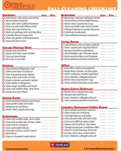 Checkout these fall cleaning checklists they have everything you need to do in your home - inside and out! | Deep Cleaning | Household Tasks | Organizing | Declutter| Yard Clean Out.
