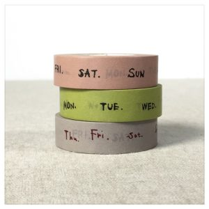Weekly Washi Tape