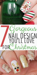 7 Gorgeous Nail Design You'll Love For Christmas