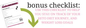 keto Snack Checklist