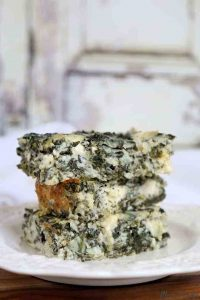 Spanakopita-Cottage-Cheese-Casserole-Low-Carb
